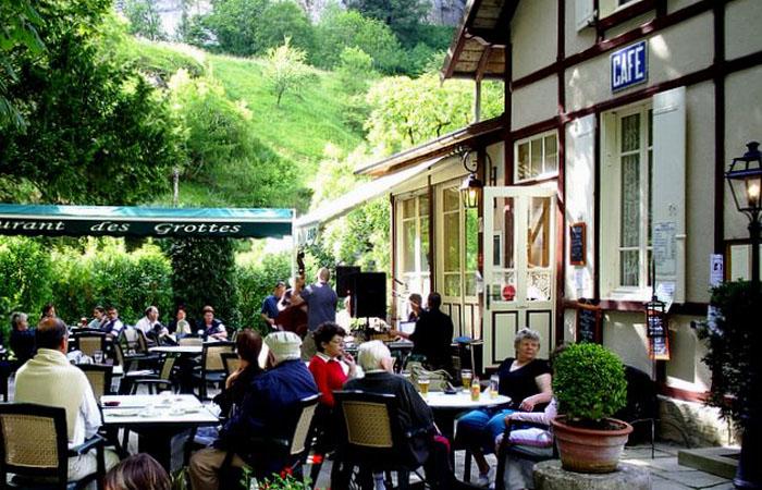 Bienvenue au Restaurant Des Grottes